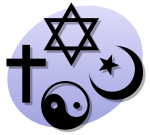 Clipart signifying religion generally (10929 bytes)