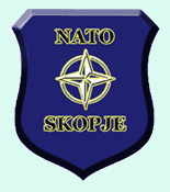 Logo of NATO-Skopje